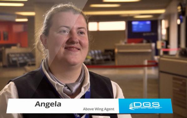 Meet Angela – DGS Above Wing Agent