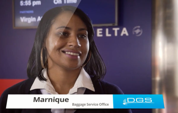 Meet Marnique – DGS Baggage Service Officer