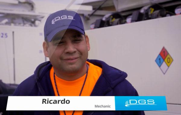 Meet Ricardo – DGS GSE Mechanic