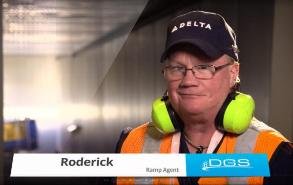 Meet Roderick – DGS Ramp Agent